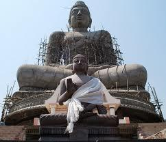 Kala Chakra Budha Statue at Amaravathi