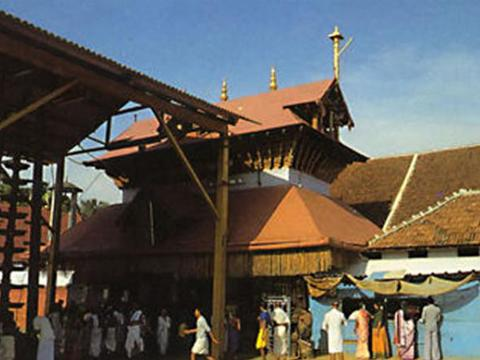 A VIEW OF GURUVAYUR TEMPLE