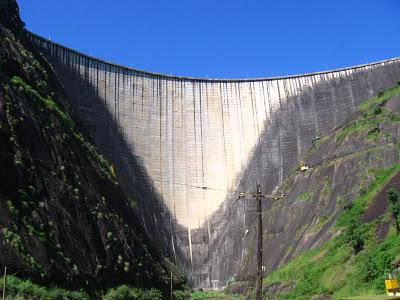 Idukki Dam on the Periyar River