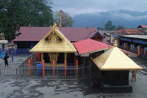 The Lord Ayyappa Temple at Sabarimala