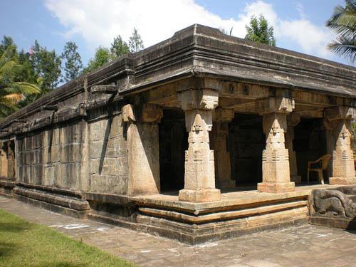 Jain temple at Sultan Bathery
