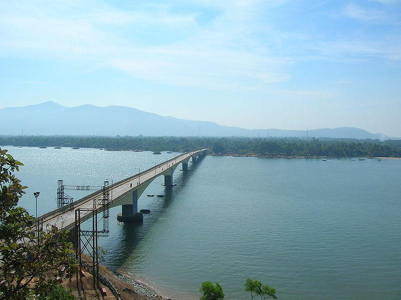 Kali river bridge