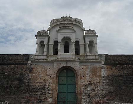 West Entrance of the Vizianagaram fort in Andhra PradesH