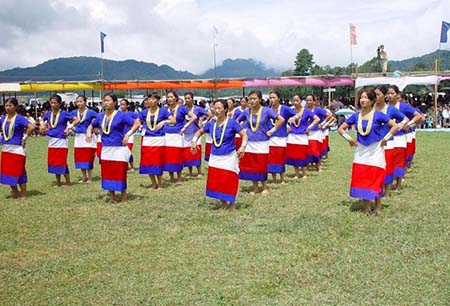 Lower Subansiri District dance celebration