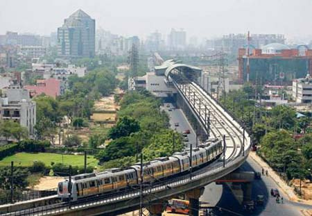 Gurgaon Metro Project