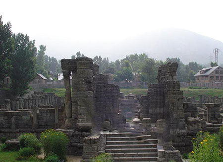 Vishnu Temple, Avantipura, Jammu and Kashmir