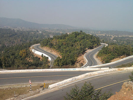State Highway No.2 between Patratu and Ranchi
