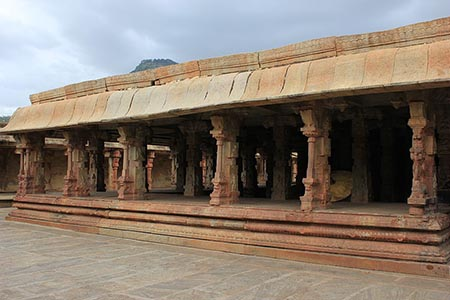 A mantapa in Bhoganandishvara group of temples at Chikkaballapur