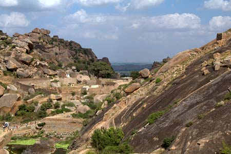 Inside view, Chitradurga