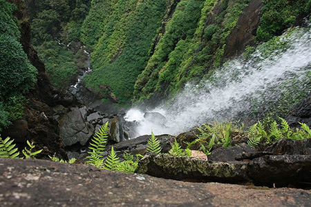 Onake Abbi falls near Agumbe, Shimoga District