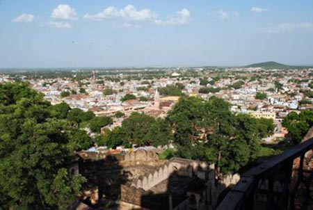 View over Jhansi