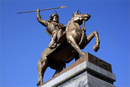 Baji Rao I the most famous of the nine Peshwas.