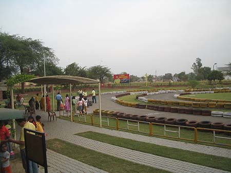Vajra Go Karting, which is also open to civilians, is a big attraction.