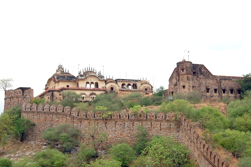 The Alwar fort