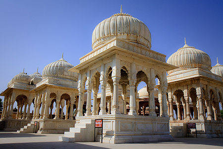 Royal Cenotaphs at Bikaner, Rajasthan