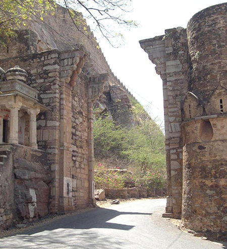Chittorgarh Fort gate