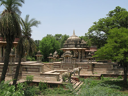 Royal Cenotaphs in Kota, Rajasthan