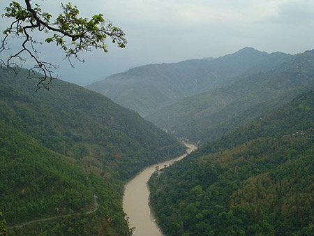 River Teesta, Sikkhim, India