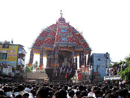 Tiruvarur temple car festival
