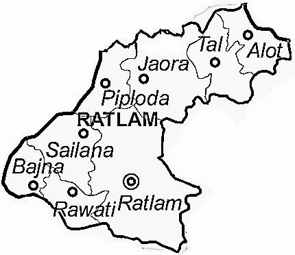 Image result for ratlam map
