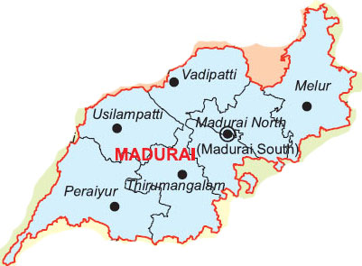 Image result for madurai map